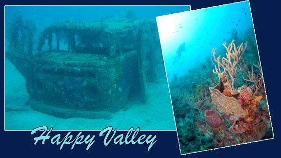 grenada dive site happy valley